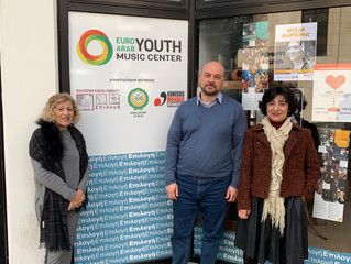 Visite au centre Euro-Arabe de Limassol, le mois d'Octobre 2019. - Επίσκεψη στο Ευρω-αραβικό Μου