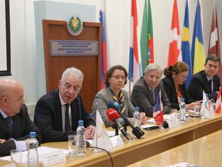 Conférence de presse pour les manifestations du mois de la Francophonie à Chypre, par le Ministre de