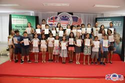 Entrega de certificados YLE2018-2