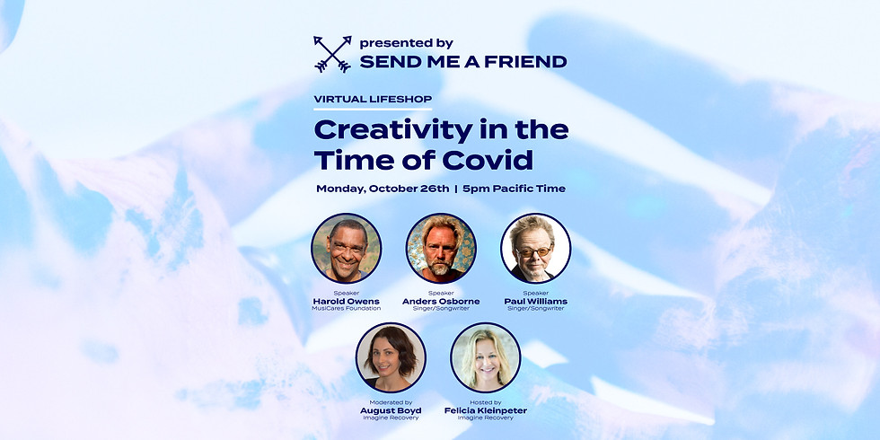 Virtual Lifeshop: Creativity in the Time of COVID