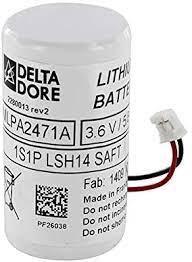 Bloc de piles lithium détecteur de rideau extérieur