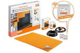 Kit de câble chauffant pour 2,3m2 spécial mur