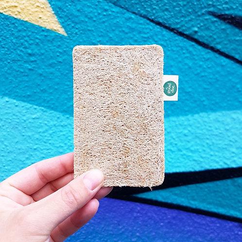 The Good Dot: Rectangular Loofah Sponge
