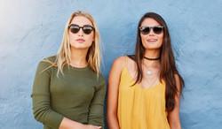 Women Wearing Sunglasses