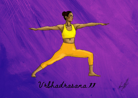 Vrbhadrasana II