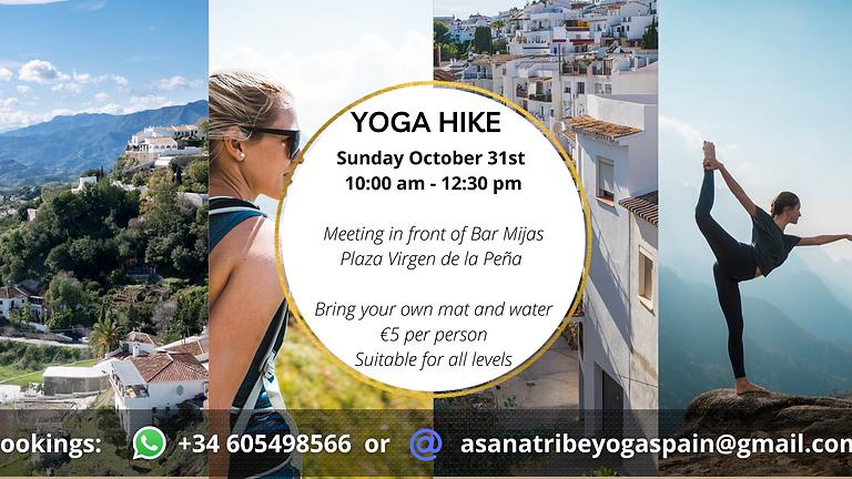 Yoga Hike in Mijas Pueblo