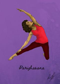 Parighasana