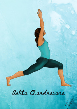 Ashta Chandrasana