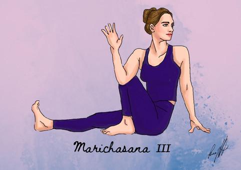 Marichasana III