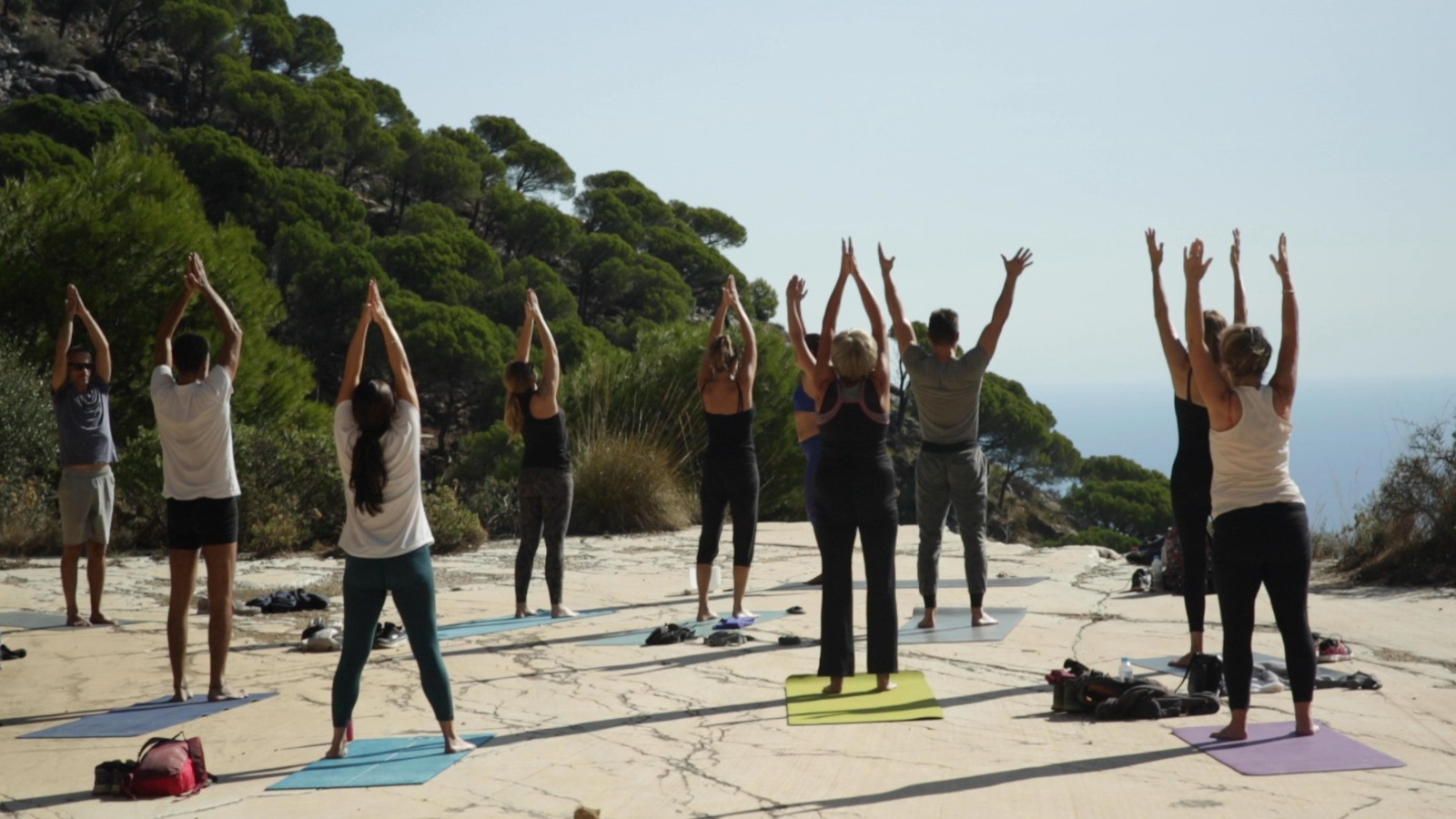 Photos from our MIjas Yoga Hike