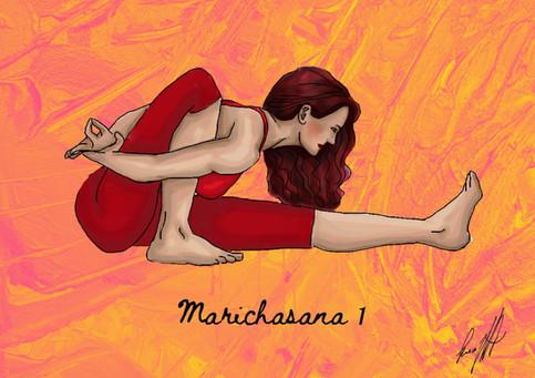 Marichasana I