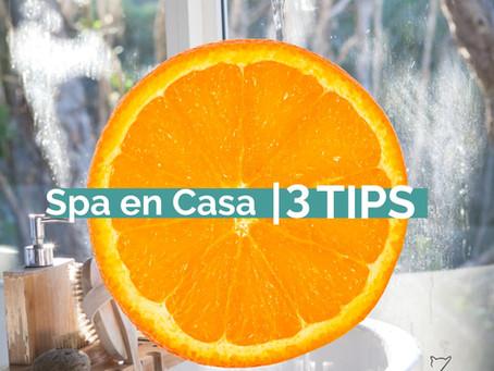 3TIPS | Spa en Casa