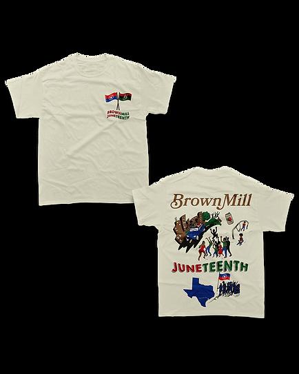 Brownmill x Juneteenth T Shirt