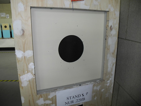 Rutec rubber rotating target area box system in development