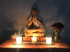 Oaxacan Buddha in the Arquitos Center