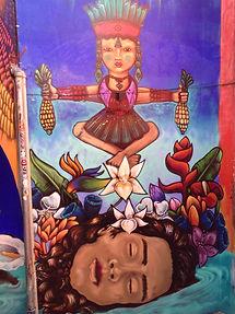 A koan dream as street art in Oaxaca