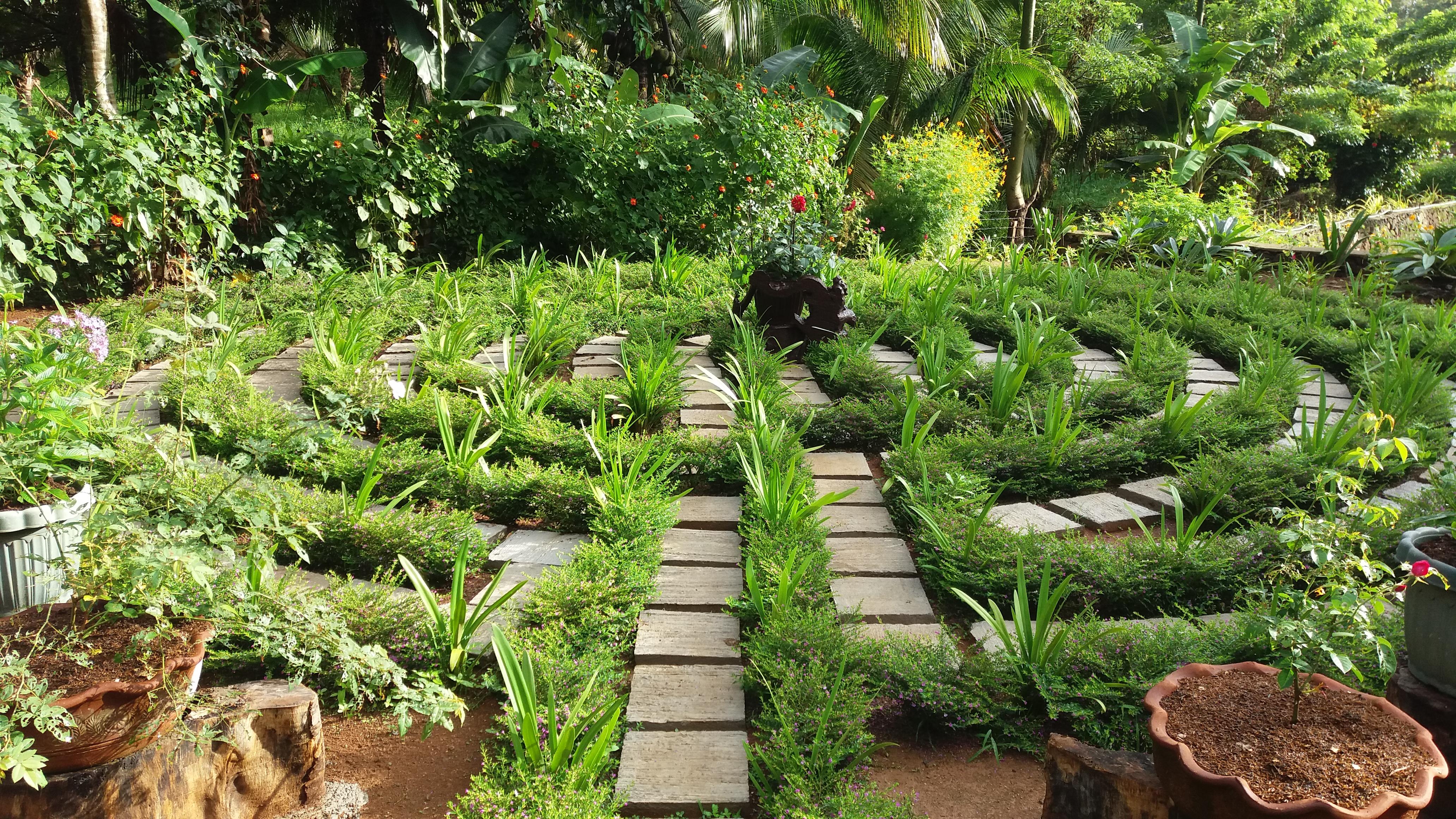 Labyrinth Garden