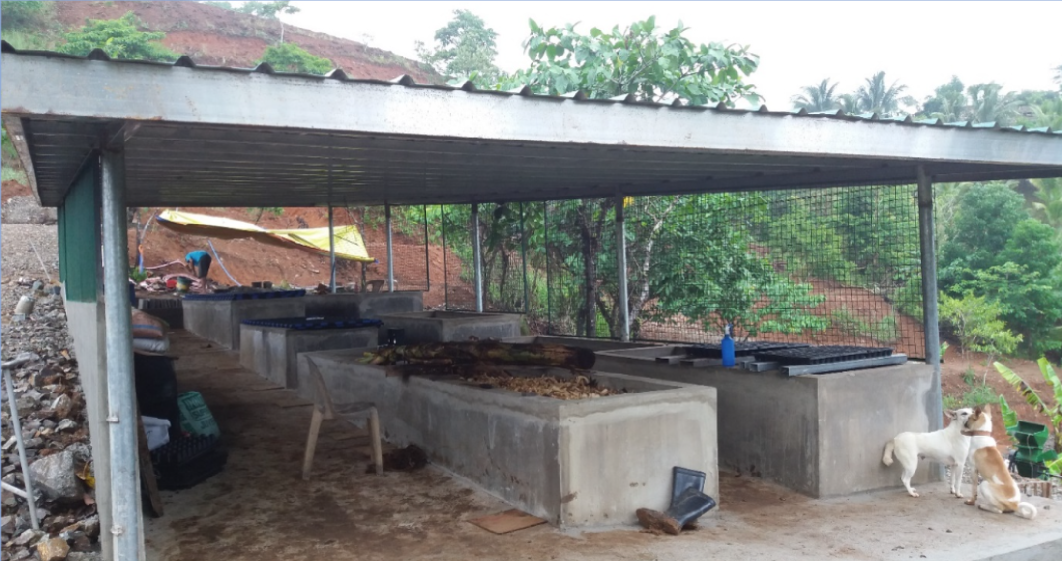 Vermi House for organic fertilizer