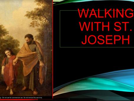 Walking with St. Joseph