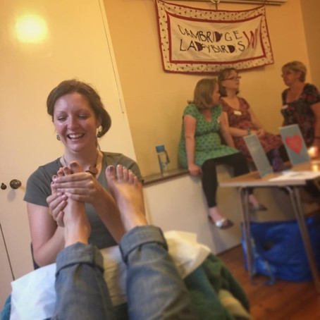 July Meeting – We Got Pampered!