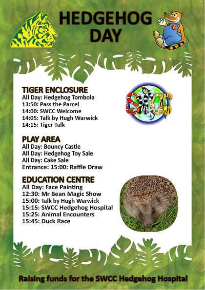 draft of Hedgehog Day times