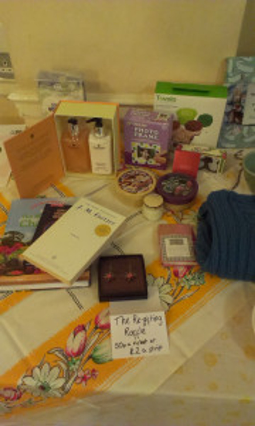 The re-gifting raffle