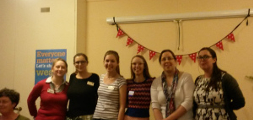 Our new committee for 2015/16 (L-R Helen, Lucy, Elaina, Sophie, Lusia and Alana)