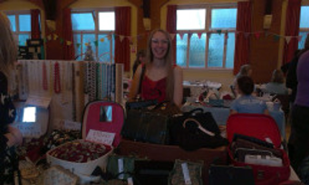 Sophie and her vintage wares from RetroVert