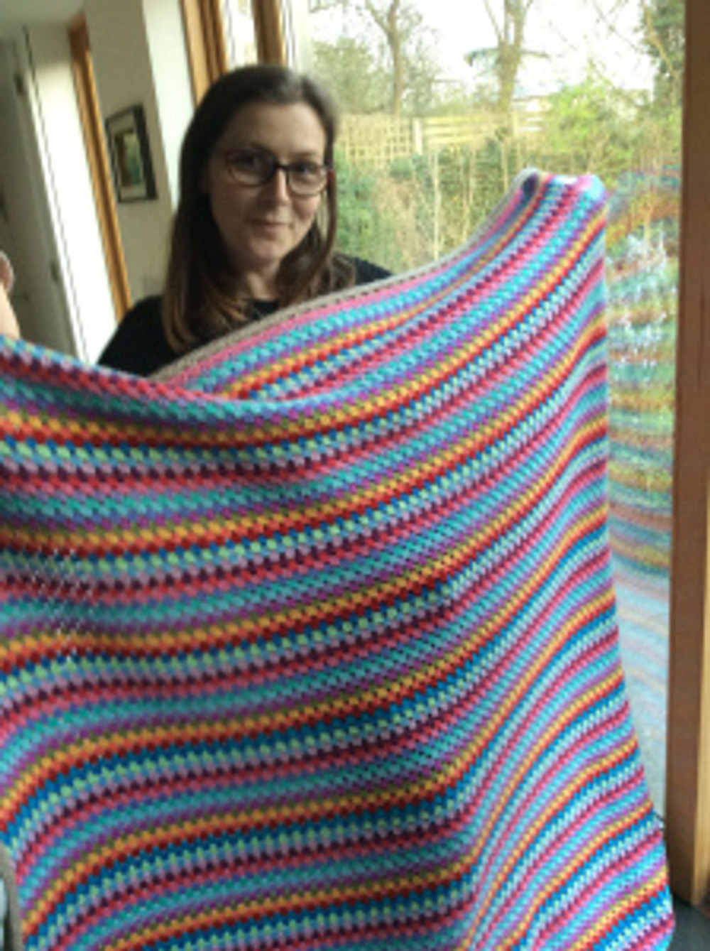 Lucy and her attic 24 blanket