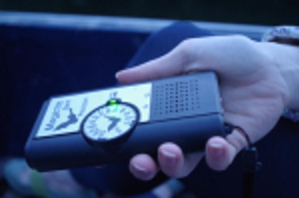 A sonar detector