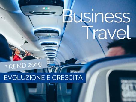 Il business travel nel 2019