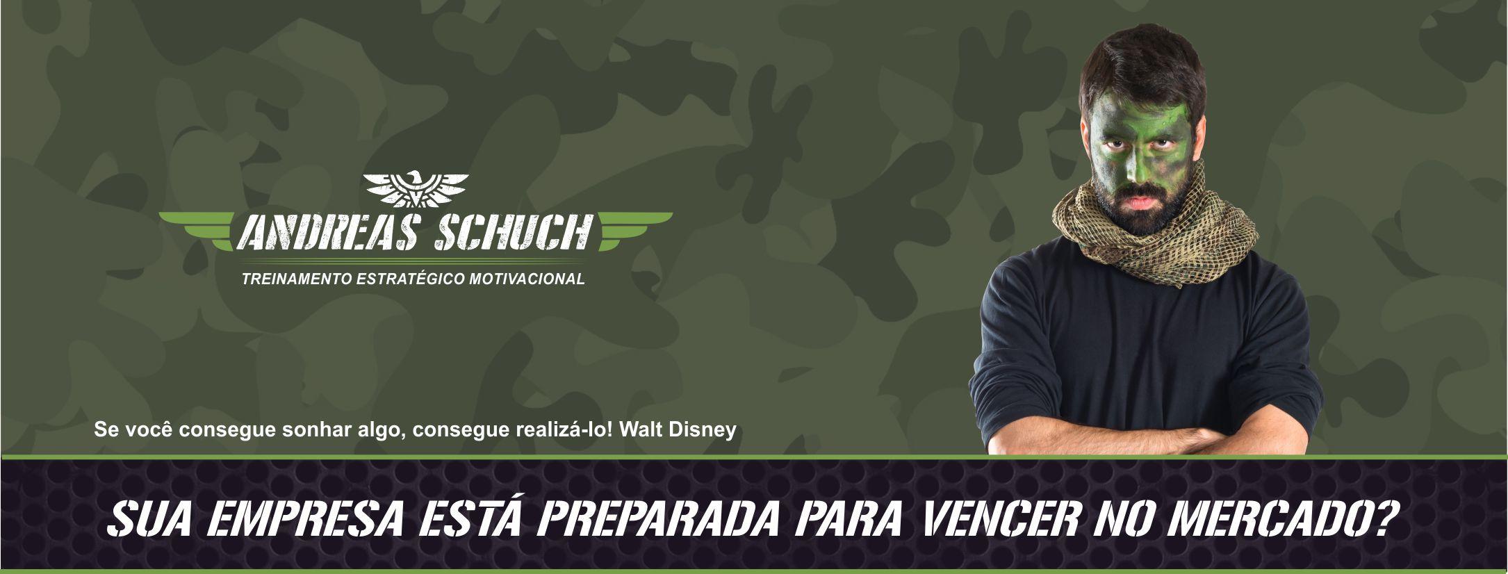 Treinamento Motivacional Andreas Schuch Treinamentos Brasil