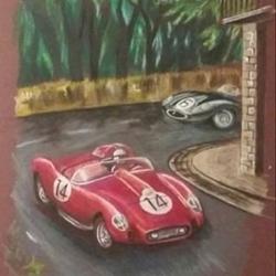 Winning Ferrari