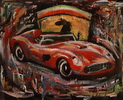 Abstract Ferrari