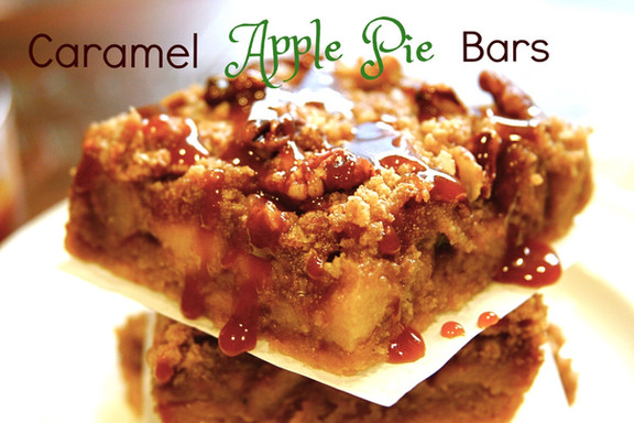 Caramel Apple Pie Bars