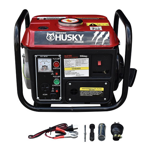 GENERADOR PORTATIL A GASOLINA SWEDISH HUSKY POWER 2 HP