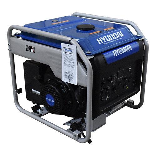 GENERADOR INVERTER HYUNDAI HYE8800I 8.7KW C/MOTOR 15 HP 110V/220V