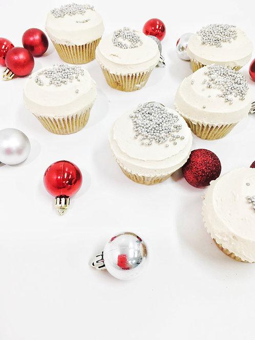 Christmas Spice Cupcakes