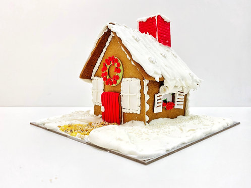 Cottage Gingerbread House