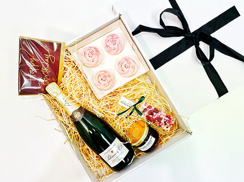 The Champagne Roses Box