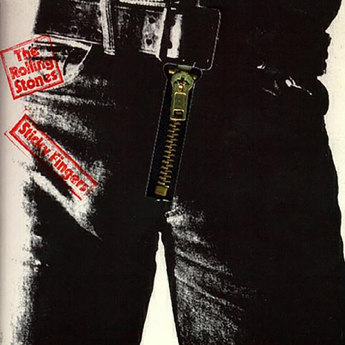 The Rolling Stone's interactive design for their Sticky Fingers LP