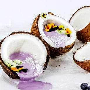 Blueberry & Coconut