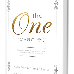 """The One"" Revealed – Virtual Book Tour – Guest Blog Post ft. Karolyne Roberts!"