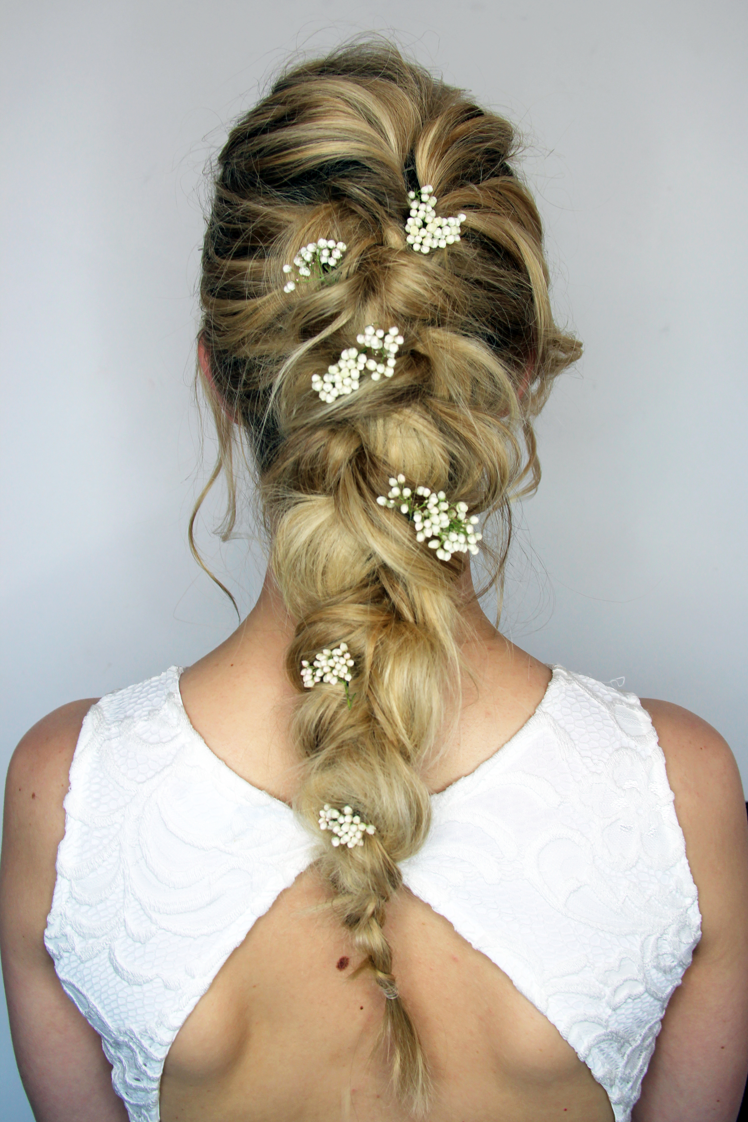 Bridal Hair With Flowers