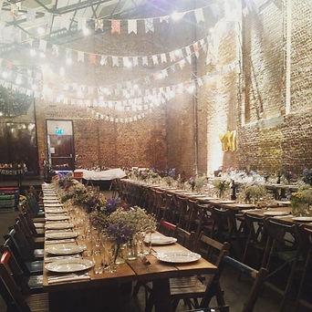 Wedding catering venue