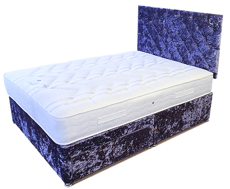Deluxe Ortho Care Double Divan + Headboard