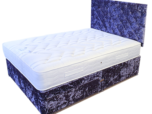 Deluxe Ortho Care King Size Divan + Headboard