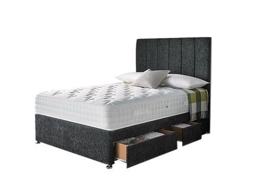 Comfort 1000 Super King Size Divan + Headboard