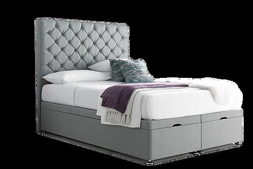 Monti End Lift Ottoman with mattress & Headboard