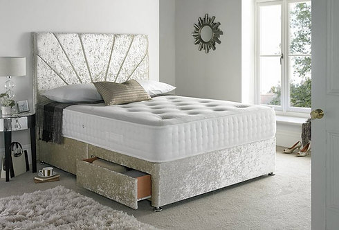 Bamboo mini double Divan
